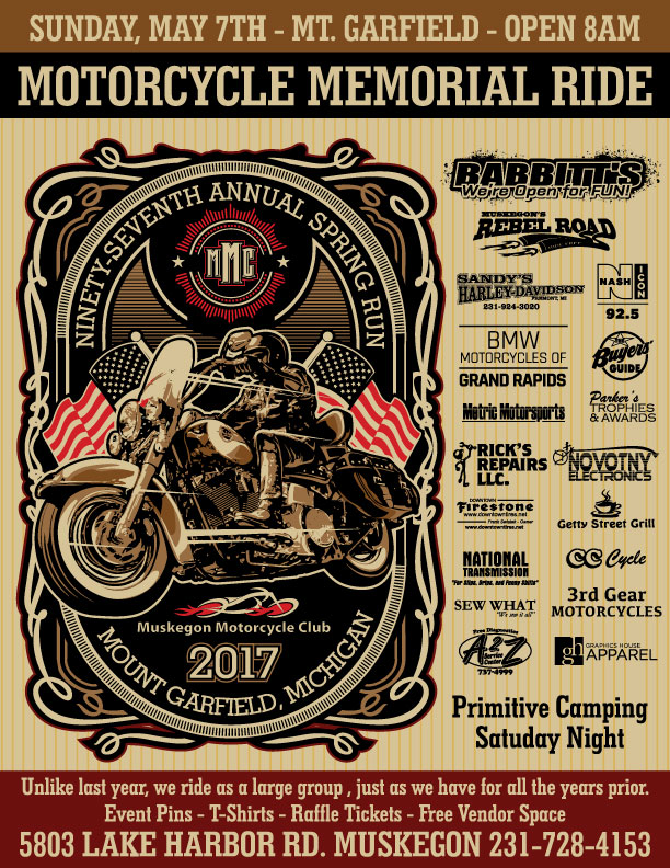 2017MMC SpringRun Muskegon Motorcycle Club