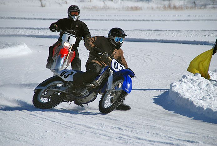 Club Ice Race