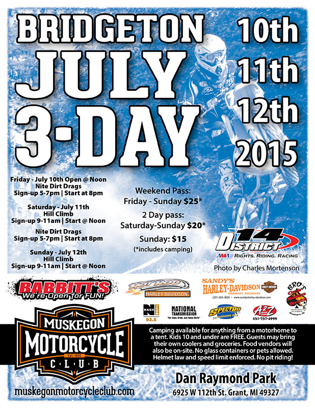 MMC July 3 Day Hillclimb and dirt drags