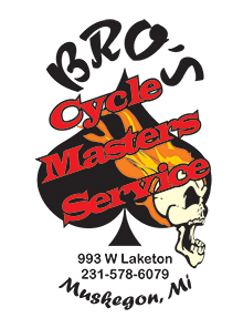 Bro's Cycle Master Service Muskegon Michigan